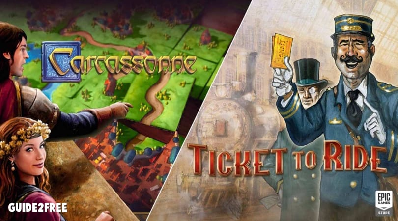 FREE Carcassonne and Ticket to Ride PC Downloads