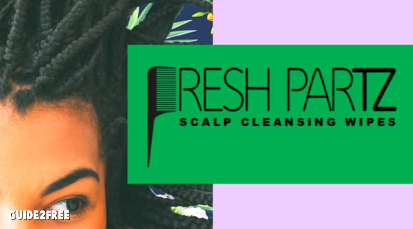 FREE Fresh Partz Scalp Cleaning Wipes