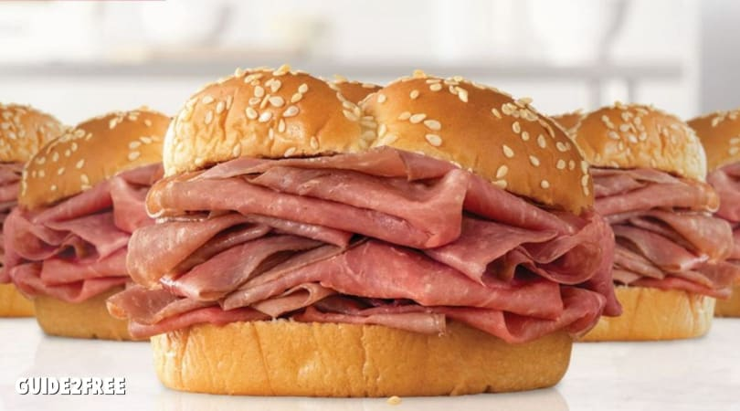 5 Arby's Classic Roast Beef Sandwiches for $10