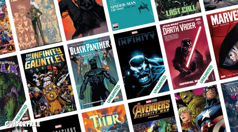 FREE 60-Day ComiXology Unlimited Digital Comics Trial
