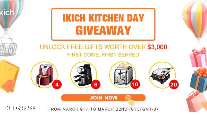 FREE Products from Ikich