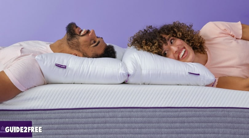 FREE Purple Mattress and Accessories