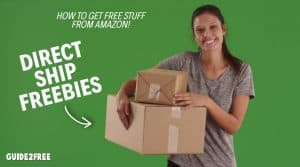 FREE Random Items from Amazon Sellers (Direct Ship FREEBIES)