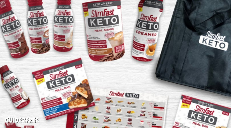 FREE Slim Fast Keto Products