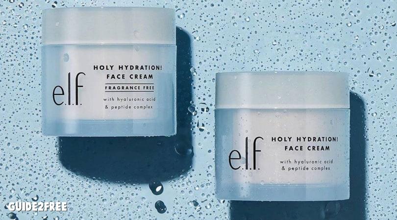 Free E L F Cosmetics Holy Hydration