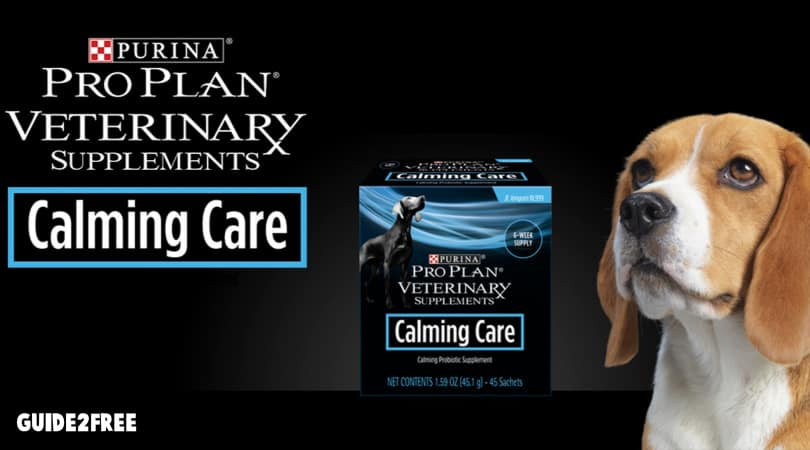 FREE Purina Pro Plan Calming Care Veterinary Supplements
