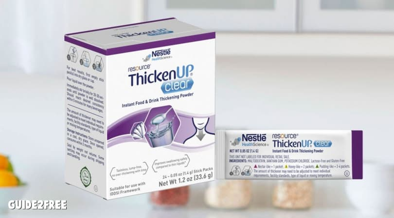FREE Resource ThickenUp Clear Stick Packs Samples