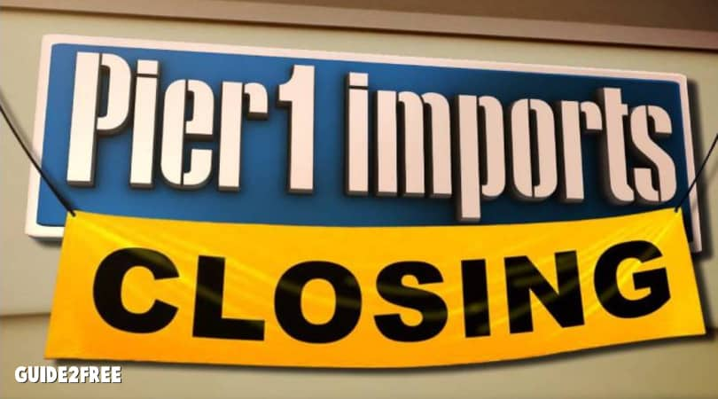 Pier 1 Going Out of Business Sale