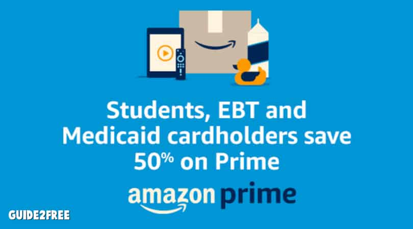 50% off Amazon Prime with EBT or Medicaid