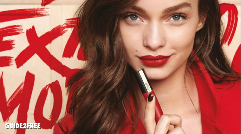 FREE L'Oreal Rouge Signature Matte Lip Stain Deluxe Sample