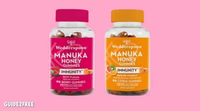 FREE Wedderspoon Manuka Honey Immunity Gummies