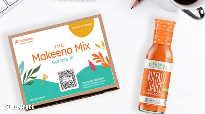 FREE Makeena Mix Sample Box