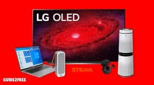 Win a 77 inch LG TV, Laptop, Headphones and More
