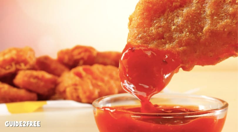BOGO MCDONALD'S NEW SPICY CHICKEN NUGGETS