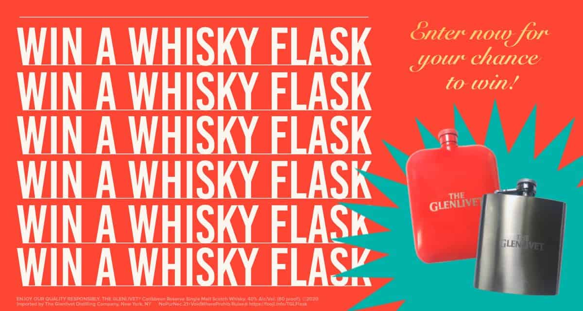 FREE Whisky Flask