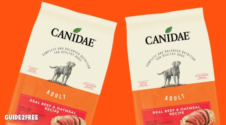 FREE 7lb Bag of Canidae Dog Food
