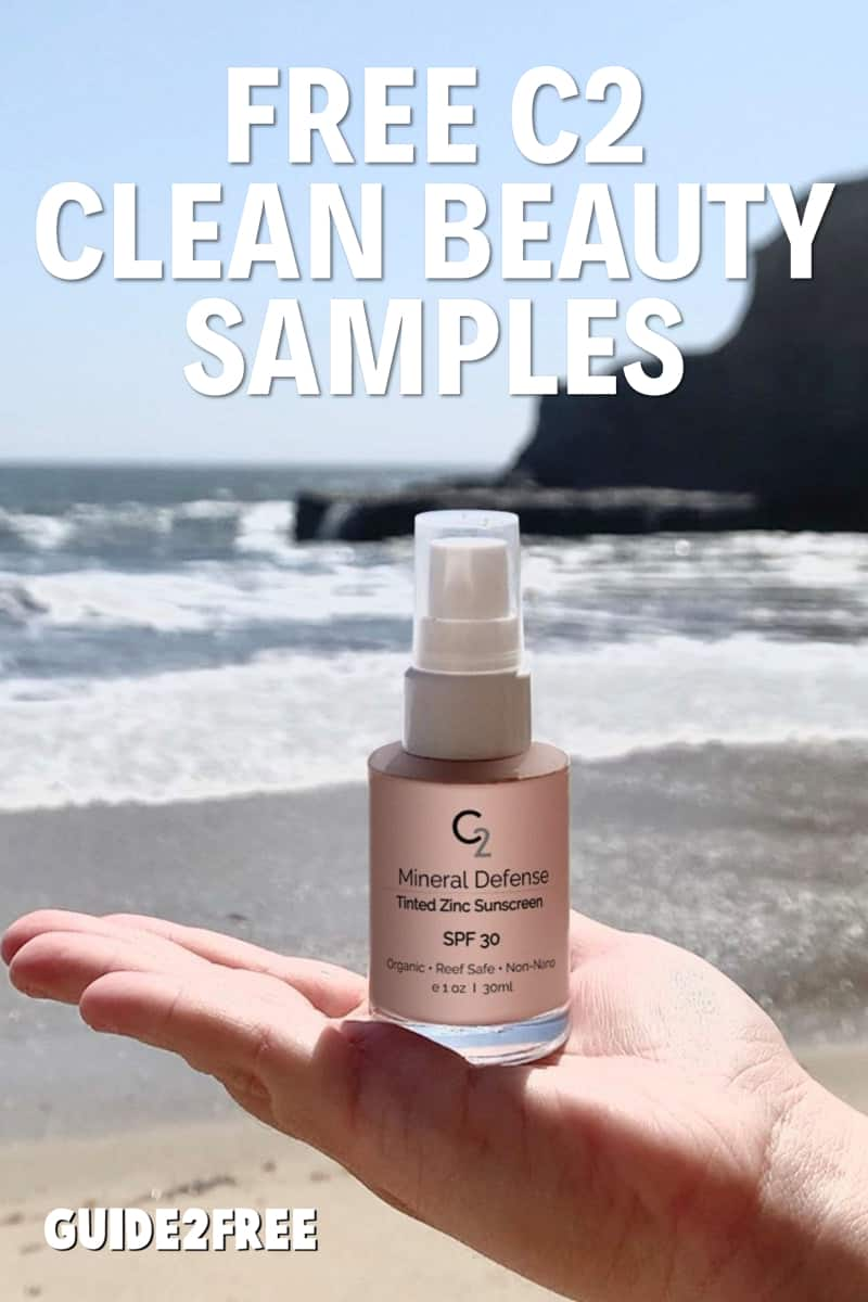 FREE C2 CLEAN BEAUTY SAMPLES