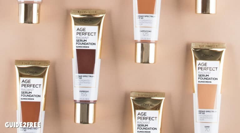 FREE Loreal Age Perfect Foundation Sample