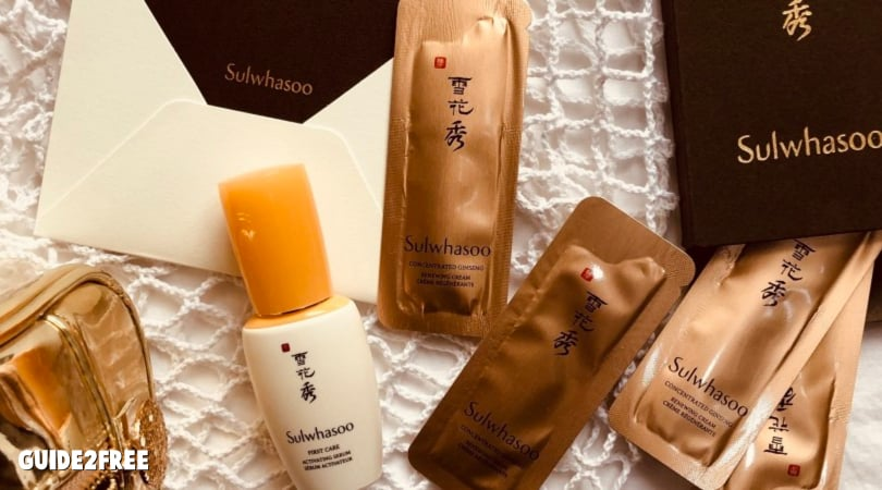 FREE Sulwhasoo First Care Activating Serum Sample