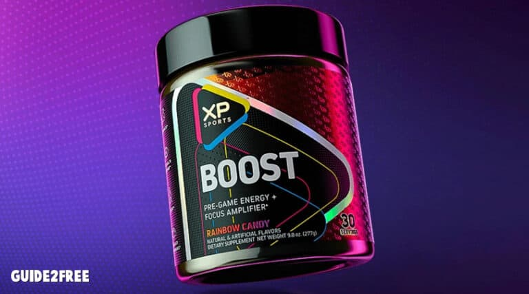 FREE Xp Sports Boost Samples